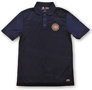 Football Fanatics Chicago Cubs Men's Performance Polo Shirt Dri Fit