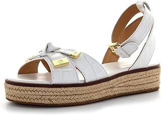 MICHAEL KORS zapatos mujer sandalias 40S0RIF1E RIPLEY SANDAL WHITE talla 38 Color blanco