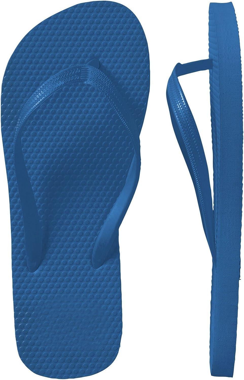 SLR Brands Women's Flip Flops Rubber Thong Flip Flop Shower Sandal for Women