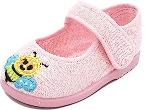 PULIDINES - P0935/5 Zapatilla de casa con Suela de Goma de Toalla para niña Bebé niña