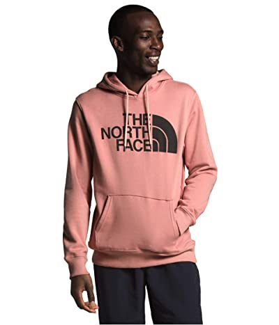 The North Face Half Dome Pullover Hoodie (Pink Clay/TNF Black) Men
