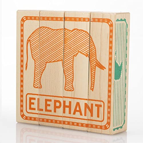 precios razonables Tree Tree Tree Hopper Toys - Zoo Puzzled Blocks  barato