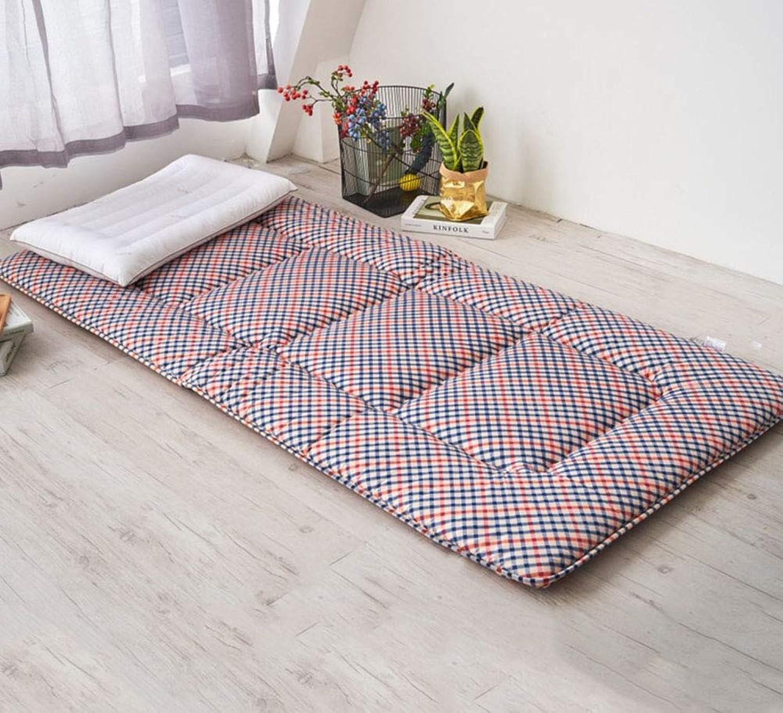 QWERTYUI Folding Tatami Mattress, Student Ground Floor Sleeping pad Thickened Mattress Topper-A 90x195cm