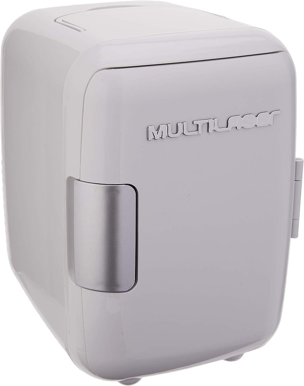 Multilaser Mini Geladeira 4L 12V 127V Capacidade 6 Latas De 350Ml Com Cabo Dc Sem Cabo Ac Branca – Tv009