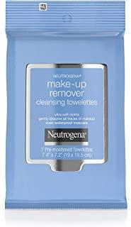 دستمال های پاک کننده پاک کننده آرایش Neutrogena ، دستمال مرطوب صورت روزانه برای از بین بردن آلودگی ، روغن ، آرایش