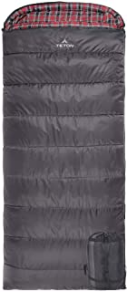 TETON Sports Celsius XXL -18C/0F Sleeping Bag; 0 Degree Sleeping Bag Great for Cold Weather Camping
