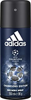 Adidas Champions League UEFA 4 Body Spray for Men, 150ml