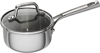 Emeril Lagasse 62854 Stainless Steel Saucepan, 1 quart, Silver