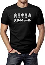 JINFENGT Men's T-Shirts/Hombre Camiseta Band-Maid Art Logo T-Shirts tee Black