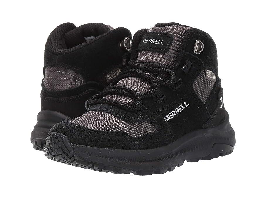 不測の事態擬人化機械的に[メレル] キッズスニーカー?カジュアルシューズ?靴 Ontario 85 Waterproof (Little Kid/Big Kid) Black 11.5 Little Kid (18cm) M [並行輸入品]