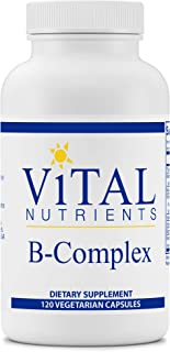 Vital Nutrients - B-Complex - Balanced High Potency B Vitamin Complex - Supports Energy Production, Metabolism and Heart H...