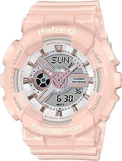 BA110RG-4A Baby-G Women's Watch Pastel Pink 43.4mm Resin