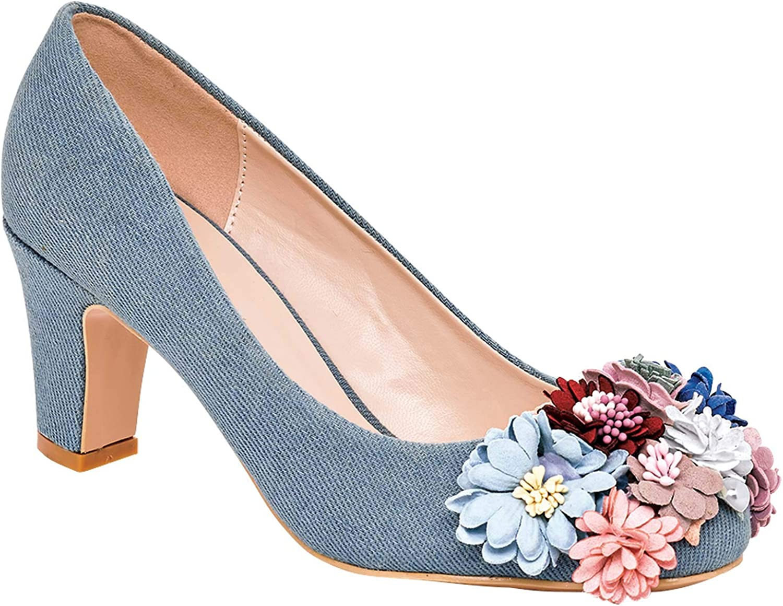 AmeriMark Women's Adult Angel Steps Enchanting Pump Dress Shoes