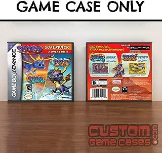 Gameboy Advance 2-In-1 Double Pack - Spyro Season of Ice / Spyro 2 Season of Flame - Case