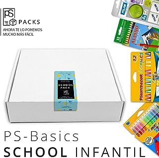Pack Material Escolar - PS-BASICS SCHOOL (INFANTIL) - Set Vuelta ...