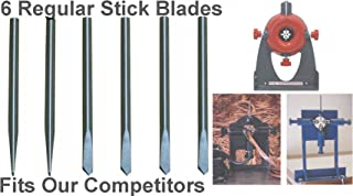 Copper Wire Stripper Replacement Blades Set of 6 =Fits All Competing Models=