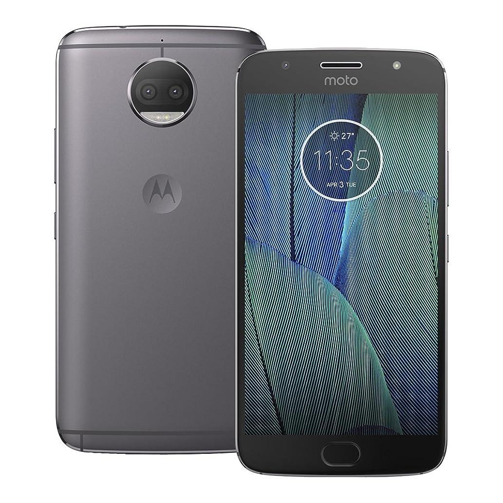 Motorola Moto G5S Plus (XT1803) 3GB / 32GB 5.5-inches Single SIM Factory Unlocked - International Stock No Warranty (Lunar Gray)