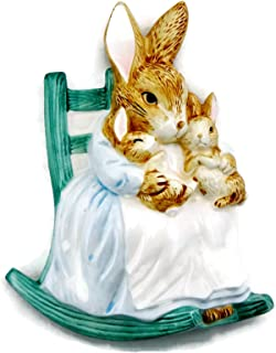 Schmid Beatrix Potter The Tale of Peter Rabbit Mother Rabbit and Babies Wall Plaque Room Decor