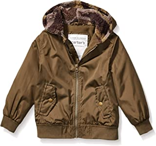 Carter's Boys' Little Fleece Lined Bomber Jacket