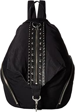Julian Nylon Backpack w/ Studs