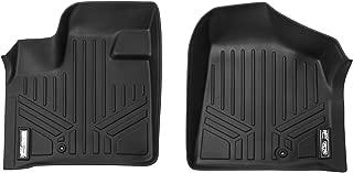 MAXLINER Floor Mats 1st Row Liner Set Black for 2008-2018 Dodge Grand Caravan / Chrysler Town & Country