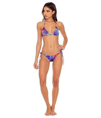Luli Fama Isla Holbox Reversible Seamless Triangle Top (Multi) Women
