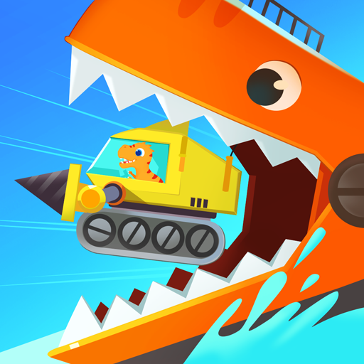 Dinosaur Ocean Explorer - Research vessel games for kids