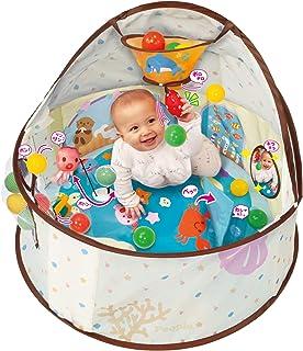360°知育ベビードーム 対象年齢6カ月以上 知育遊び20種類以上 ボールプールに変身 長く遊べる コンパクトに収納
