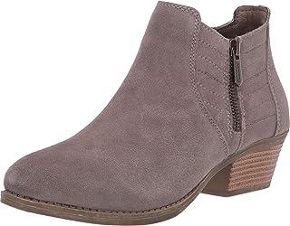 Skechers LASSO - بترولي - حذاء برقبة طويلة حريمي بسحاب جانبي مخيط من الجانب