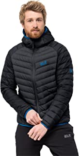 Jack Wolfskin Men's Zenon Storm Windproof Down Puffer Jacket