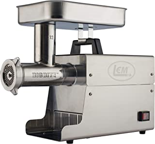 LEM Products Stainless Steel Big Bite Electric Meat Grinder (Renewed)