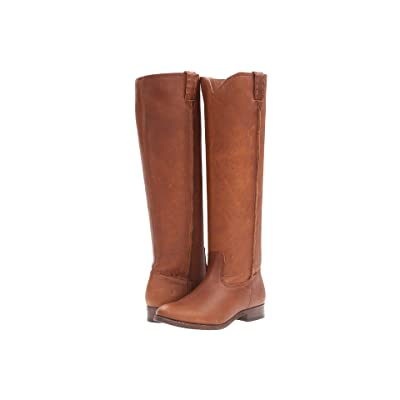 Frye Cara Tall (Cognac Washed Oiled Vintage) Women