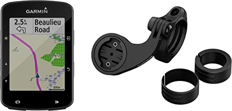 Garmin Edge 520 Plus Mountain Bike Bundle, GPS Cycling/Bike Computer for Competing and Navigation, Includes Mountain Bike Mount
