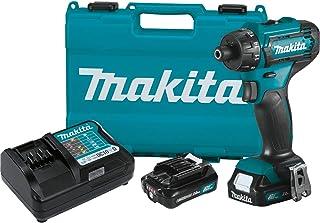 "Makita FD10R1 12V max CXT Lithium-Ion Cordless 1/4"" Hex Driver-Drill Kit (2.0Ah)"