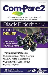 Sponsored Ad - Com-Pare2 Black Elderberry Cold + Flu Relief