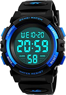 Kids Digital Sports Watch for Boys Girls, Boy Waterproof...