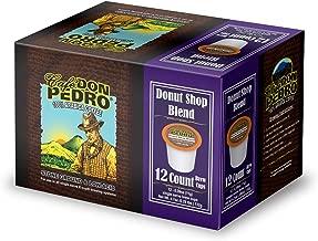 Cafe Don Pedro Donut Shop Blend 72 Count Kcup Low-Acid Coffee