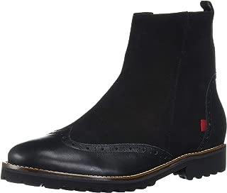 Women's Leather Luxury Eva Lightweight Wingtip Boot Ankle