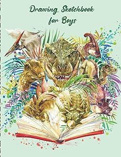 Drawing Sketchbook for Boys: Sketch Book 8x5| Painting Sketch Book| Kids Drawing Pad|Artistic Sketchbook|Sketch Book Boys