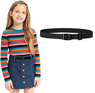 کمربندهای الاستیک قابل تنظیم برای کودکان و نوجوانان نیکل ، کمربندهای کشش دخترانه برای پسران و دختران توسط JASGOOD