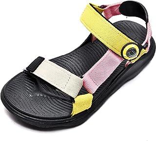 Sandalias para niños Zapatos de playa para niños y niñas Sandalias para caminar Sandalias para exteriores con punta cerrad...