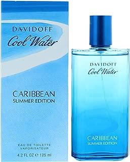 Davidoff Cool Water Caribbean Summer Edition Eau de Toilette Spray for Men, 4.2 Ounce