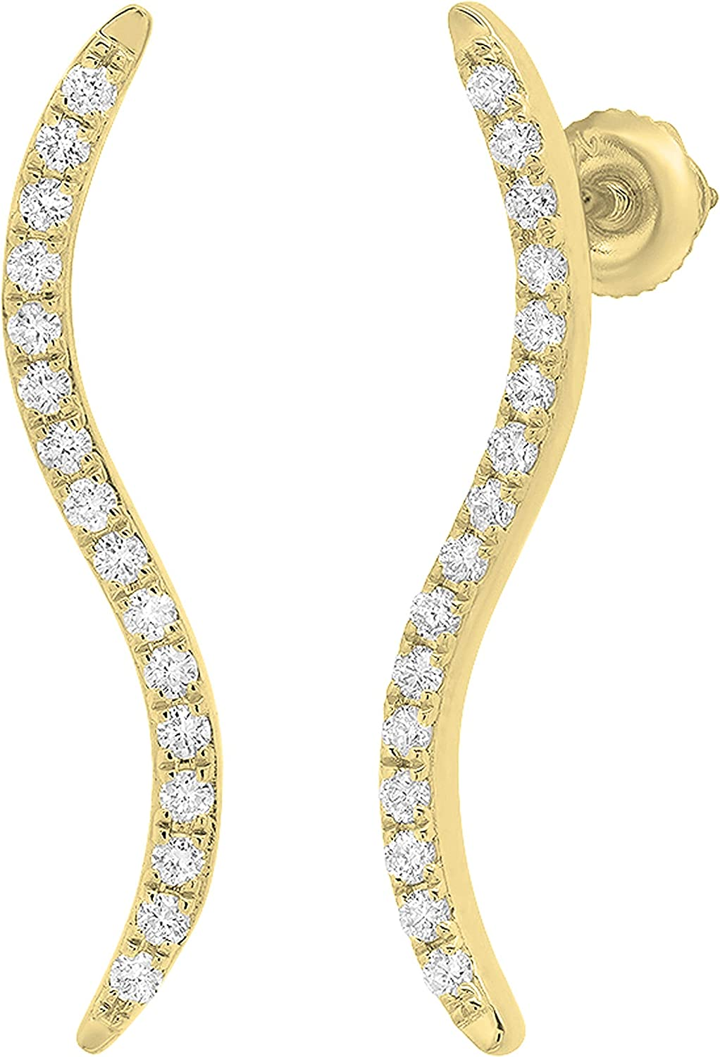 Dazzlingrock Collection 0.30 Fort Worth Mall Carat ctw White Diamond Round Lad Limited time cheap sale