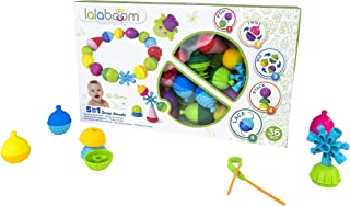 Lalaboom - Preschool Educational Beads - Montessori Shapes and Colors Construction Game and Learning Toy for Babies and Ch...