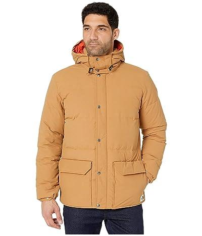 The North Face Down Sierra 3.0 Jacket (Cedar Brown/Papaya Orange) Men