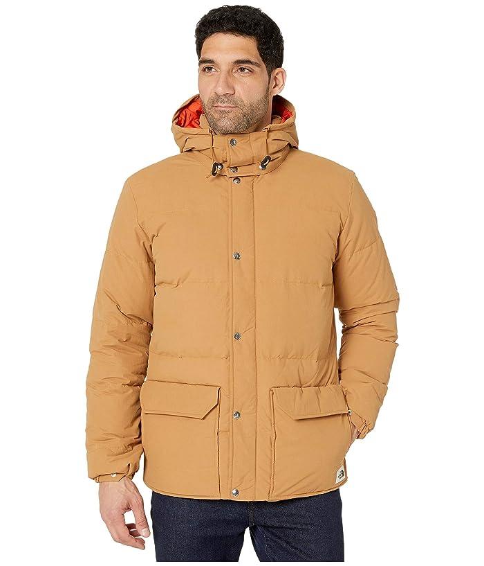 The North Face  Down Sierra 3.0 Jacket (Cedar Brown/Papaya Orange) Mens Clothing