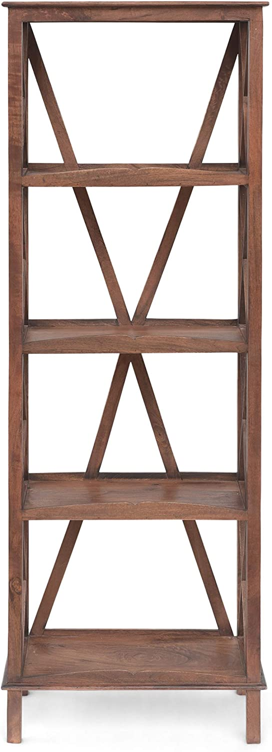 Christopher Popular popular Knight New color Home Maggie Mango Wood Bro Colonial Bookcase