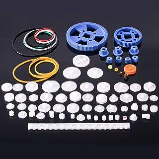 Plastic Gear Set Package Toy car Accessories Motor Various Gear axle Belt bushings