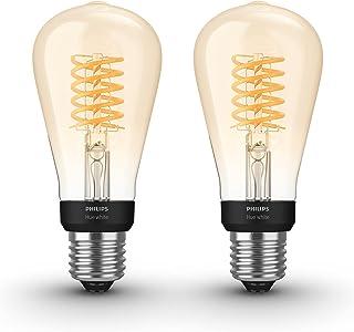 Philips Hue Uitbreidingspakket - White - Filament Edison klein - E27-2 lampen