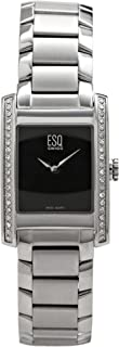 ESQ Movado Women's 7101101 SWISS Venture Diamond Accented Stainless-Steel Watch